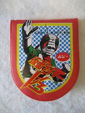 POPY vintage Japanese KAMEN RIDER V3 vinyl coin purse tokusatsu sentai Japan !!!