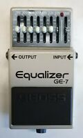 BOSS GE-7 Equalizer Guitar Effects Pedal made in Japan 1989 #223 Free Shipping