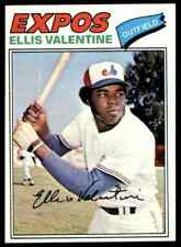 1977 TOPPS ELLIS VALENTINE #52 MINT ULTRA HI-GRADE SET BREAK BLR5M1