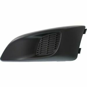 FITS FOR 2012 - 2016 CHEVROLET SONIC FOG LAMP COVER W/O HOLE LEFT DRIVER
