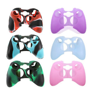 Rubber Skin Protective Cover Silicone Gel for Microsoft Xbox 360 Controller Case