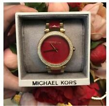 Michael Kors Parker Red Gold Women's Watch - MK6427
