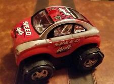 VINTAGE - VOLTSWAGON VW SUPER POWER SPEED 4 x 4 - RED and SILVER - 4""
