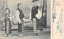 B76277 Port Popular Femei din Romania 1900  types folklore costumes women