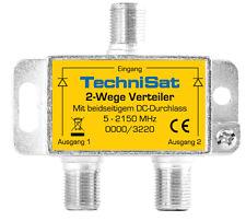 TechniSat 2-wege Sat-verteiler 0000/3220
