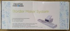 Creative Memories Original Border Maker System with Picket Fence Cartridge