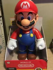 World of Nintendo Super Mario Giant Action Figure 20 Inch Brand New
