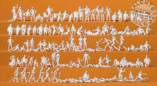 PREISER 16357 set 120 personaggi da colorare mare e lago in scala 1:87