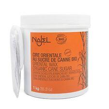 Najel Organic Oriental ZUCCHERO CERA 1kg (Pasta di Zucchero Depilazione)