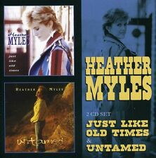 Just Like Old Times /Untamed - Heather Myles (2012, CD NEU)2 DISC SET