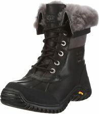 UGG Women's Adirondack II Winter Boot, Black, Size 5 M