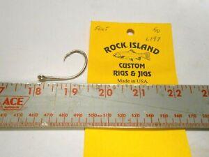 ROCK ISLAND EAGLE CLAW L197 CIRCLE HOOKS 50 CT FREE SHIPPING @ $50