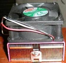 Pentium 3 III Celeron Copper Core CPU Cooler Heatsink + Fan Socket 370 - VIA C3