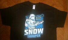 Snow Trooper Storm Star Wars first order T-shirt size mens XL Force Awakens