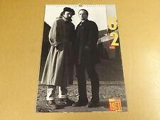 CALENDAR 1991 / U2