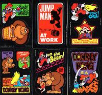 Donkey Kong Sticker - Nintendo 1982 - Super Mario / Game & Watch (DKR2)