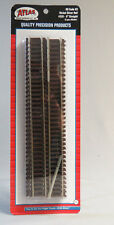 "ATLAS HO SCALE CODE 83 9"" STRAIGHT TRAIN TRACK (6) pack nickel silver 520 NEW"