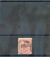 TAHITI Sc 27(YT 29)AVG USED, 1893 75c ROSE, $135