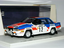 BIZARRE BZ217 NISSAN 240 RS 1983 Rally Monte Carlo #12 1/43