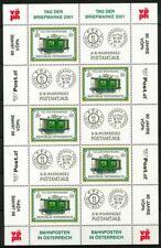 Autriche 2001 SG 2589 Mini Feuille 100%