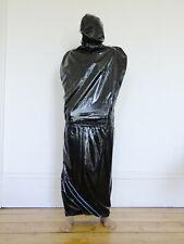 PVC U Like Plastic Bondage Bag Enclosure Suit Shiny Black BDSM Fetish Kinky Play