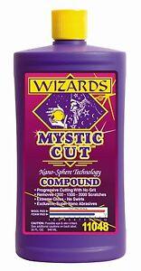 Wizards Mystic Cutting Compound 32oz nano technology