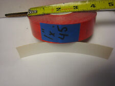 """BRIGHT RED  Reflective   Conspicuity  Tape 1"""" x 45'"""