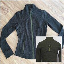 BNWT Lululemon OLIVE GREEN Define Long Sleeve Jacket! Size 6!    <ONLY ONE >