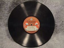"78 RPM 10"" Record Ted Lewis & His Band Twelve O'Clock At Night & The One 52-D"