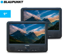 "Blaupunkt Portable 9"" Dual Screen DVD Player - Black"