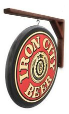 Iron City Beer Wood Sign