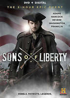 Sons of Liberty Dvd New, Free shipping