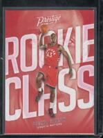 Pascal Siakam 2016-17 Prestige Rookie Class #25 RC Rookie Toronto Raptors