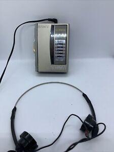 Sony Walkman WM-36 Cassette Tape Player / Graphic Equalizer