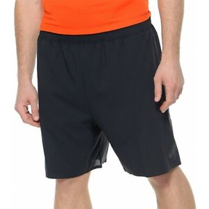 ASICS Men's Woven Shorts 9 inch Sports Running Training Shorts - Black - New