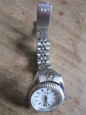 SKY QUARTZ WATCH NEW  & BOXED  STAINLESS STEEL SILVER