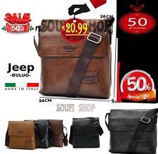 Borsello tracolla borsa uomo Jeep Buluo Casual Men Pu leather Bag