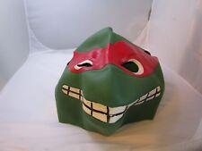 1988 TMNT Teenage Mutant Ninja Turtles Raphael Play /Halloween Rubber Mask RARE