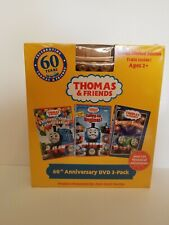 Thomas And Friends 60th Anniversary Dvd 3 Pack With Limited Edition Train