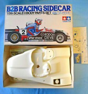 New NIB Vintage 1979 1/8 Tamiya B2B Racing Sidecar Body Kit SP1125