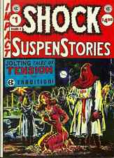 EC CLASSICS 4 - SHOCK SUSPENSTORIES  - WALLY WOOD, GRAHAM INGELS, JACK DAVIS