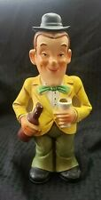 Vintage Stan Laurel Barware Utensil Figure Holder Rare