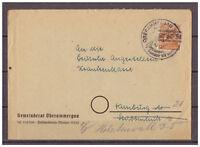 Alliierte Besetzung, MiNr. 44 I EF SSt Oberammergau nach Hamburg 1948