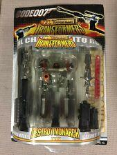 Transformers Code 007 Super Alloy Destroy Monarch G1 Megatron