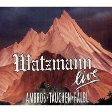 WOLFGANG AMBROS - WATZMANN LIVE 2 CD  34 TRACKS DEUTSCH-ROCK / PROGRESSIV  NEU