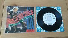 "David Lee Roth Stand Up 1988 Japan 7"" Single P-2379 Insert Classic Hard Rock"