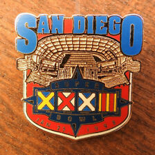 NFL San Diego Chargers Pin Badge mit Sammelkarte in Blister OVP