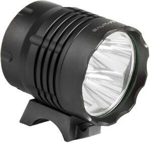 Helmlampe Fahrradlampe M-Wave Apollon Ultra 1200 Licht mit Akku 1200 Lumen