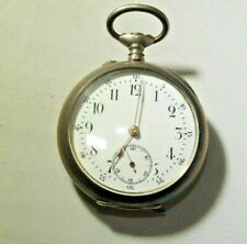 markings on Face of Manufacturer Vintage Small Pocket Watch with no