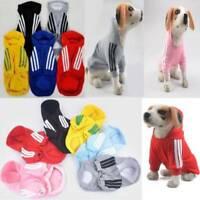 2020 Dog Cat Pet Warm Cotton Jacket Coat Hoodie Puppy Winter Clothes Pet Costume